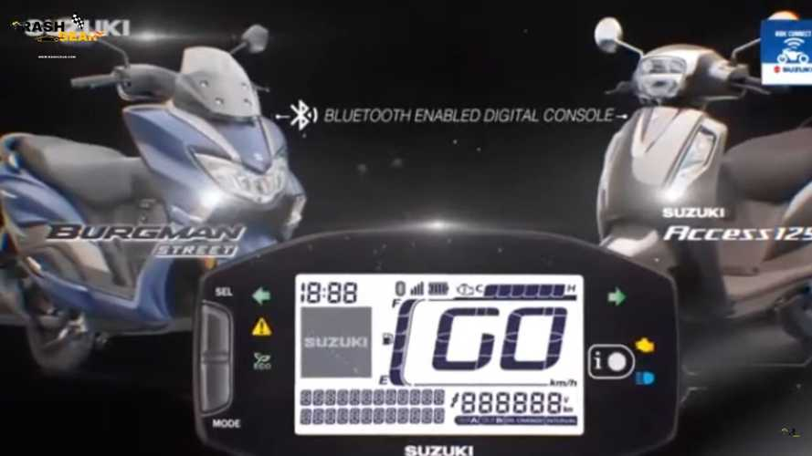 Suzuki India Launches New Bluetooth Connected Scooter Display