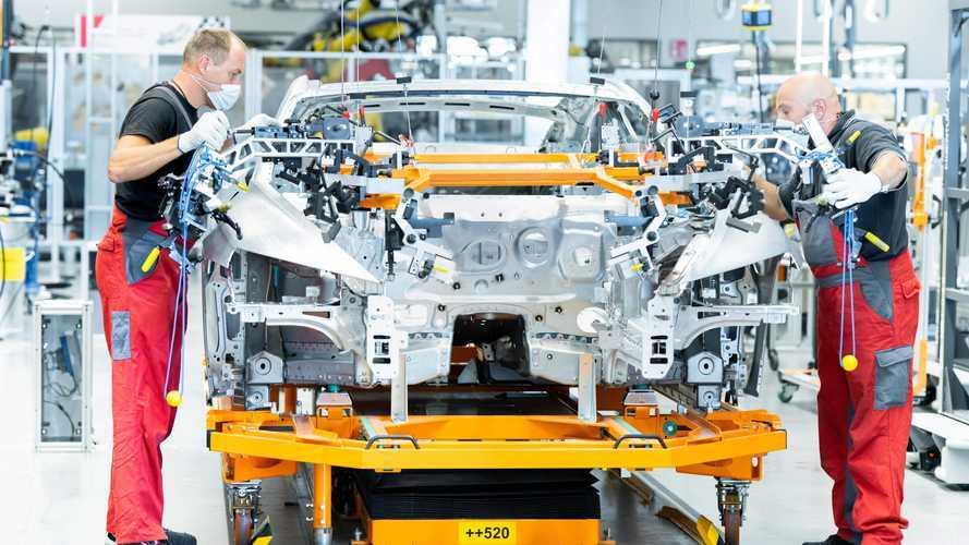 Audi annonce l'arrivée de l'e-tron GT