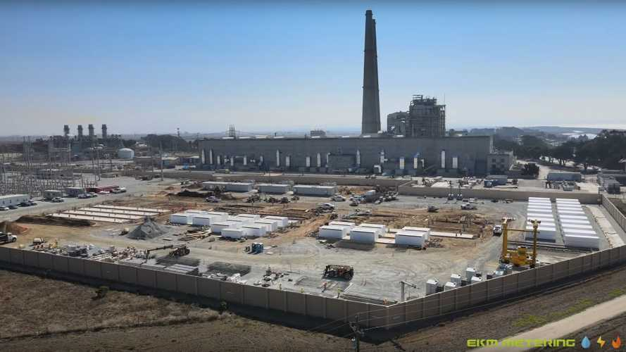 Let's See Tesla's 730 MWh ESS Under Construction In California