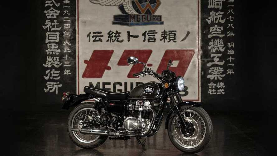 Kawasaki To Revive Historic Meguro Brand