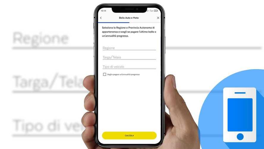 Come pagare il bollo auto e moto con l'app Postepay e BancoPosta