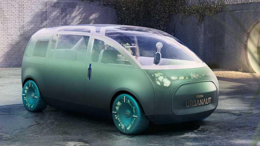 MINI apresenta conceito de minivan para um futuro de veículos autônomos
