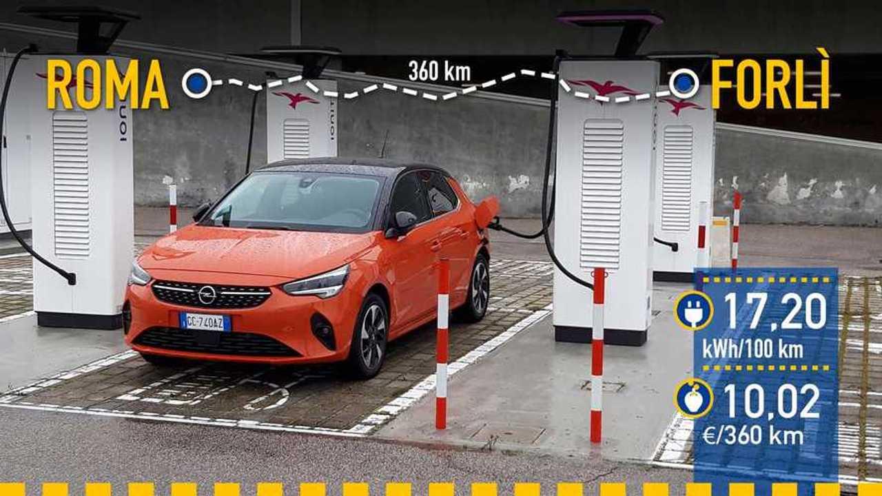 Opel Corsa-e 2021, prueba consumo