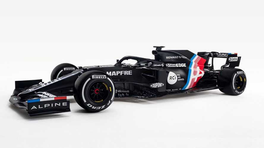 Alpine reveals car launch date as it teases F1 livery