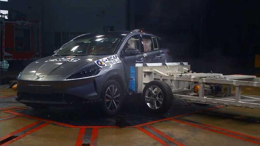 Il crash test del SUV elettrico cinese Xpeng G3 diventa un caso