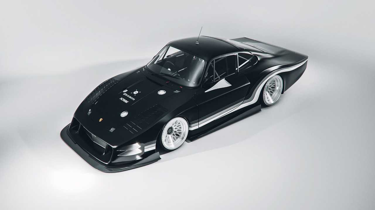 Bisimoto Moby X, un Porsche 935 eléctrico