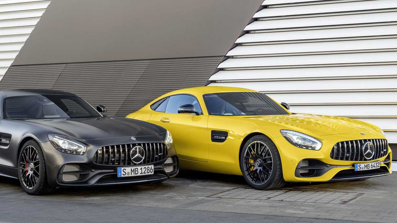 Mercedes-AMG GT и его капот