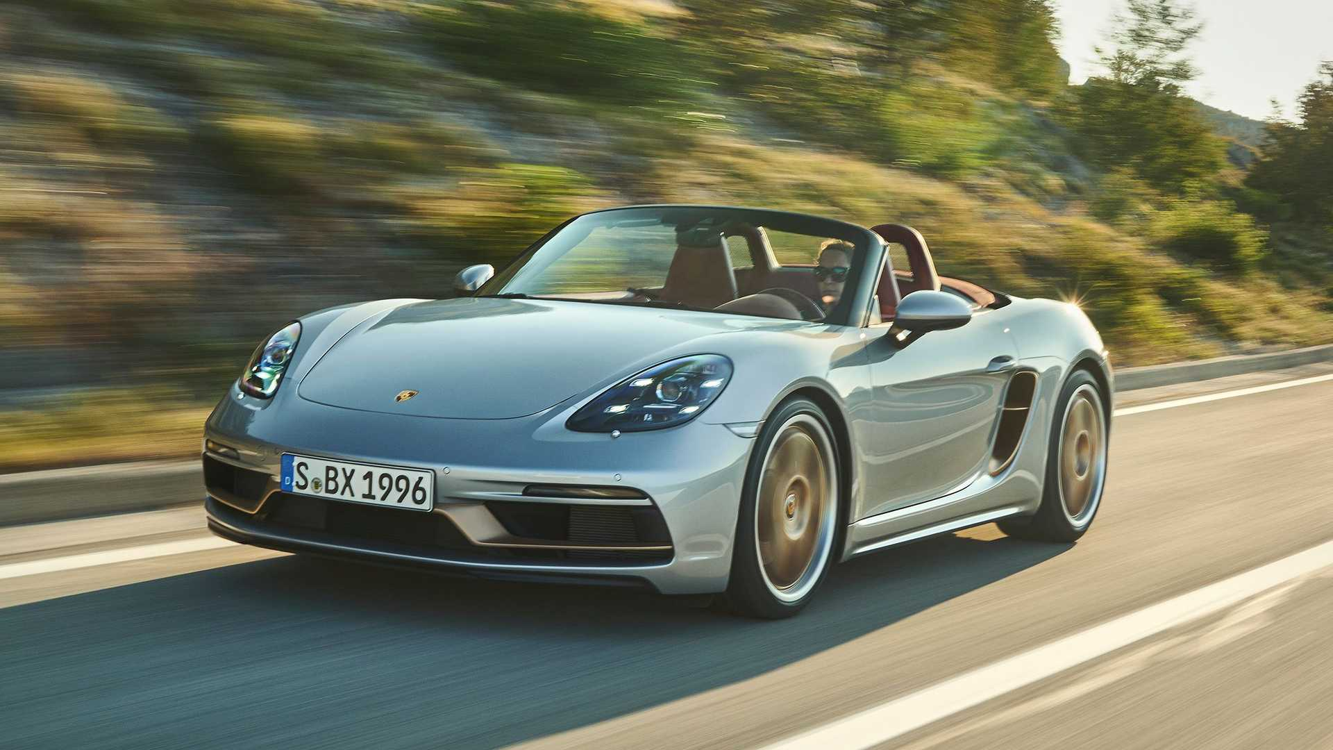photo of 2021 Porsche Boxster 25 Pays Homage To Original 1996 Roadster image