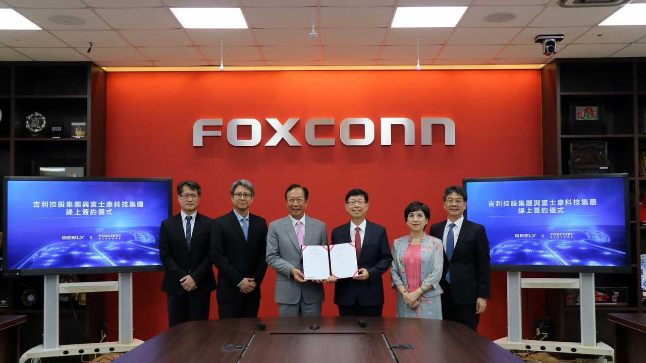 Geely And Foxconn Team Up To Produce EVs For Other Companies