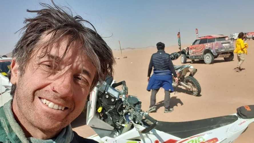 Dakar 2021: Piere Cherpin non ce l'ha fatta