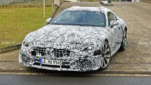 Mercedes-Benz SL new spy photos