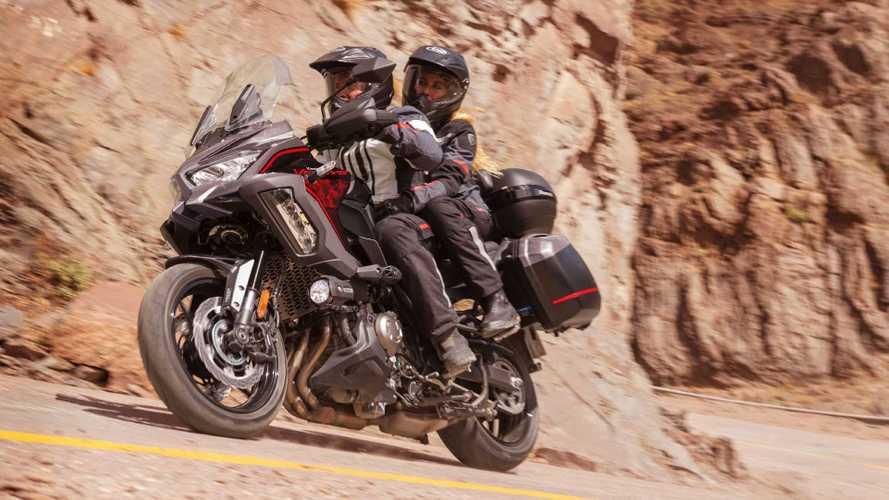 La nueva Kawasaki Versys 1000 S 2021 se presenta en Europa