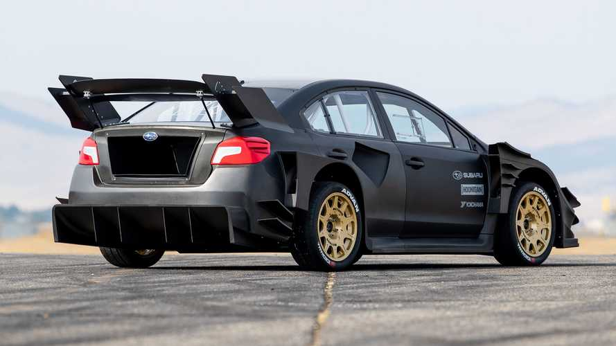 Subaru WRX STI de Travis Pastrana