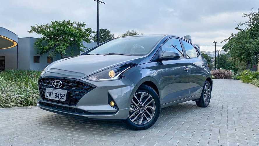 Hyundai HB20 supera Chevrolet Onix nas vendas de março