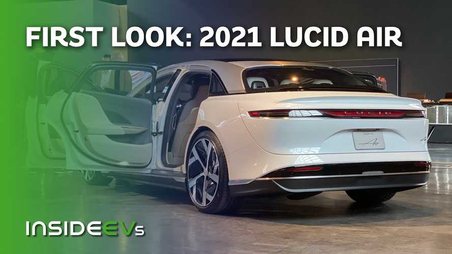 Check Out The Lucid Air Inside And Out In Exclusive Video