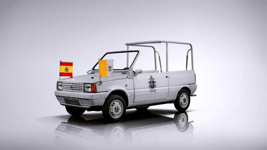 Le 10 auto che portano a spasso il Papa