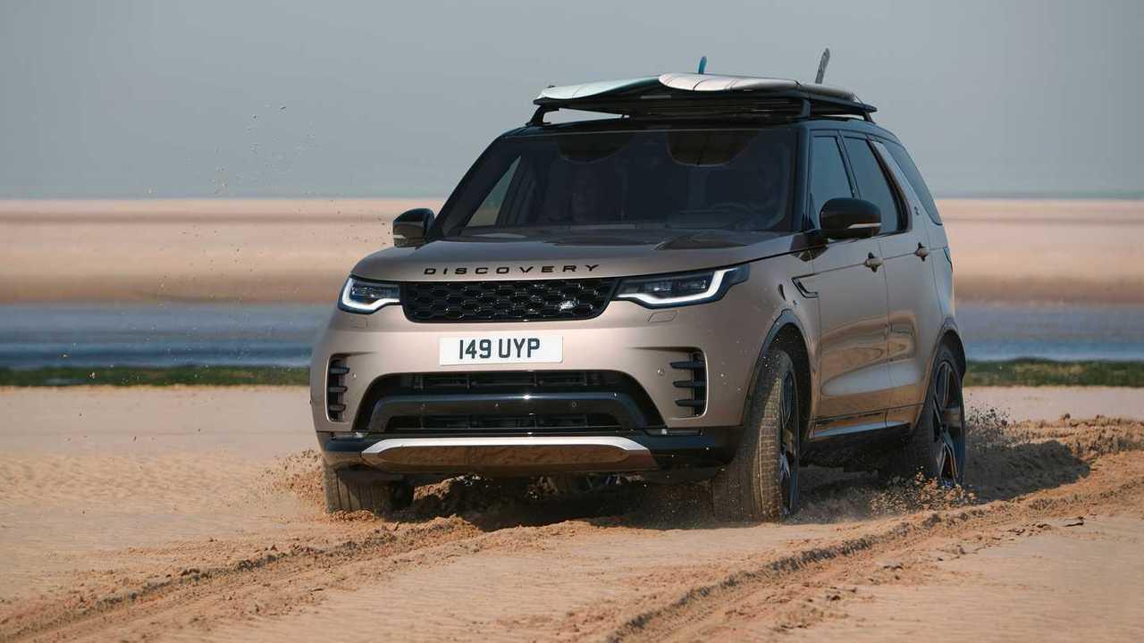 2021 Land Rover Discovery R-Dynamic Quartier avant extérieur hors route