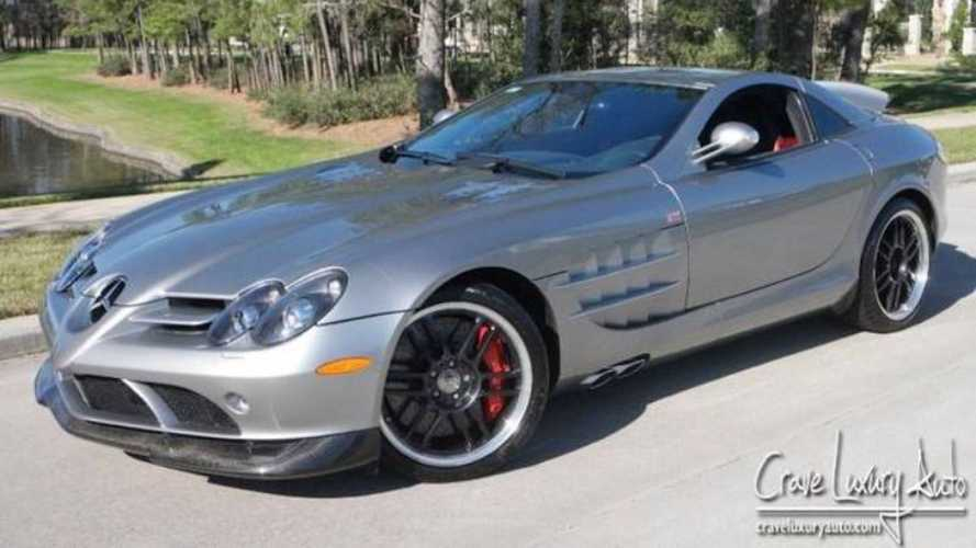 Ex-Michael Jordan Mercedes SLR McLaren has low mileage, high price
