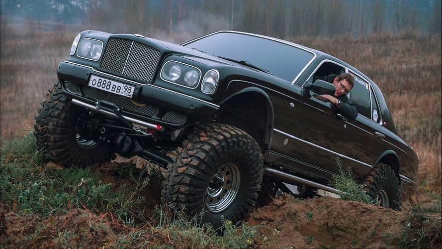 Una Bentley Arnage trasformata in fuoristrada