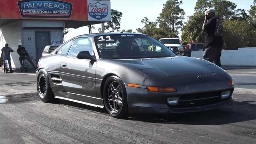 Toyota MR2 With 1,200 Honda Horsepower Does 0 To 60 In 2.5 Seconds