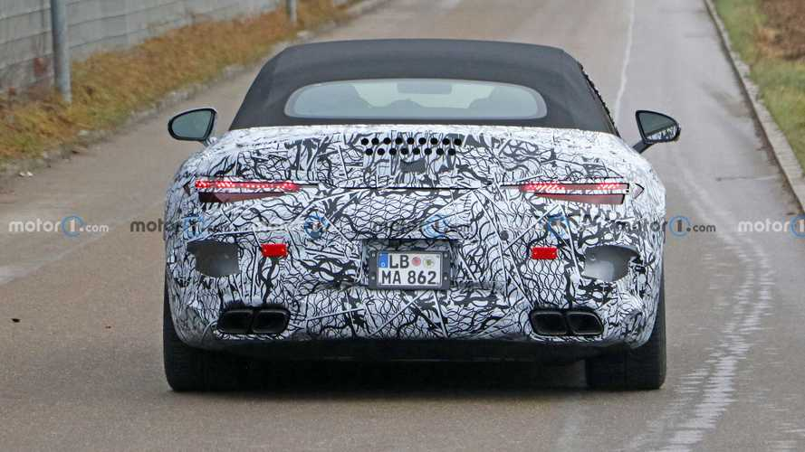 Mercedes-AMG SL-Class Spy Photos