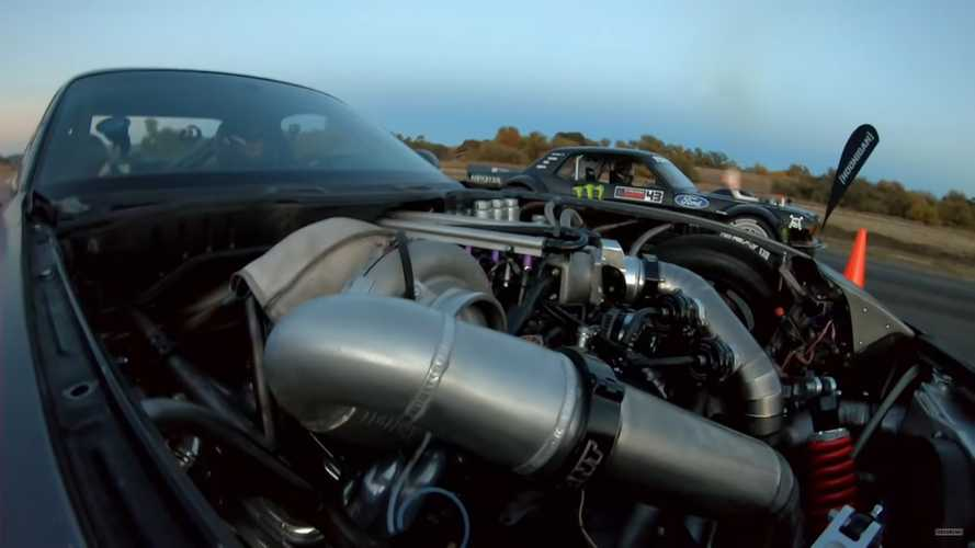 Has Hoonicorn Mustang Met Its Match Versus Insane AWD 4-Rotor RX-7?