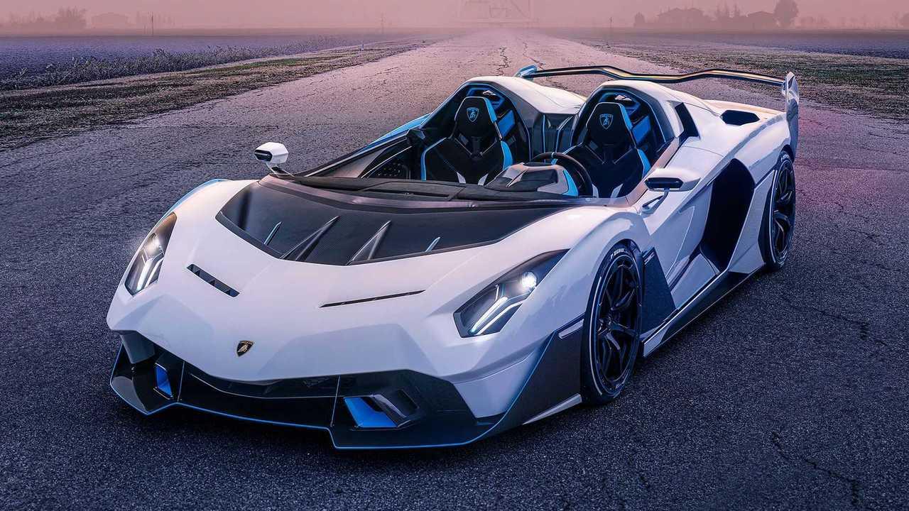 Lamborghini SC20, вид спереди