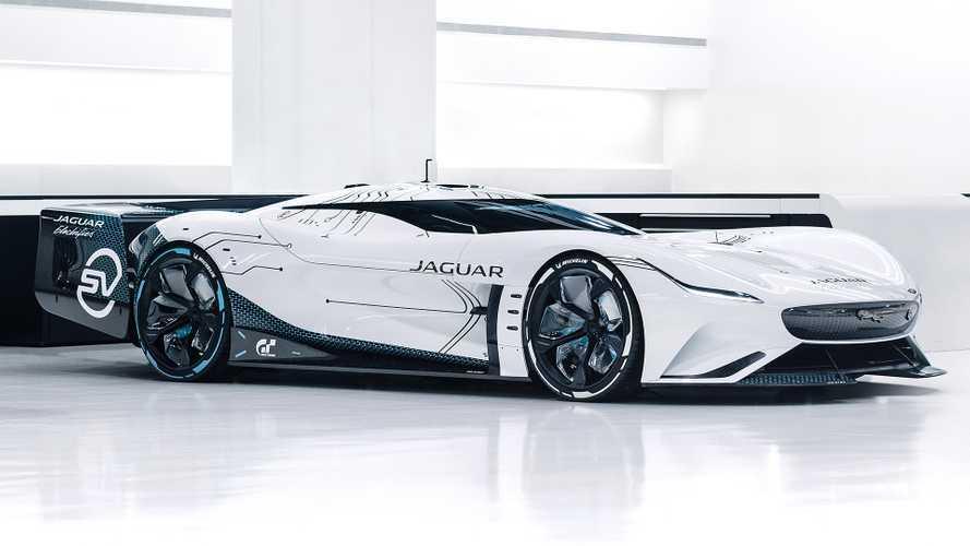 Jaguar Vision Gran Turismo SV, super elettrica da videogame