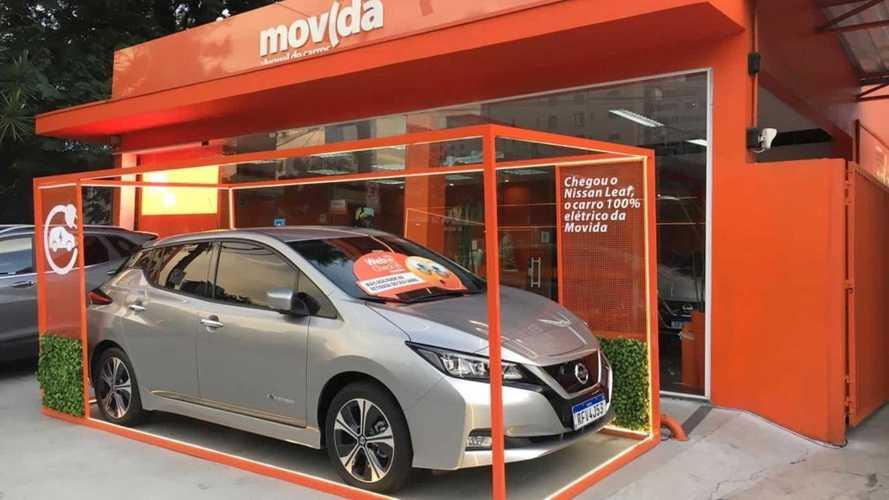 Nissan Leaf: carro elétrico ganha 'embalagem' em forma de caixa no Brasil
