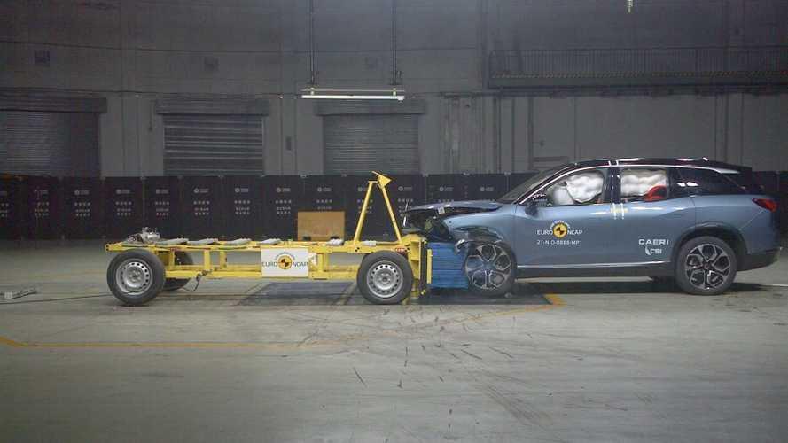 NIO ES8 scores five stars in Euro NCAP safety tests