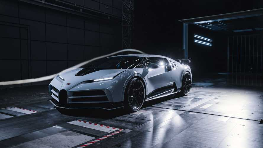 Bugatti Centodieci'nin hava tüneli testlerine ortak olun!