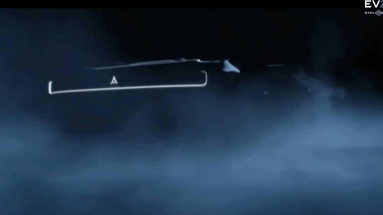 Dodge Elektromos Muscle Autó Teaser Első Alacsony