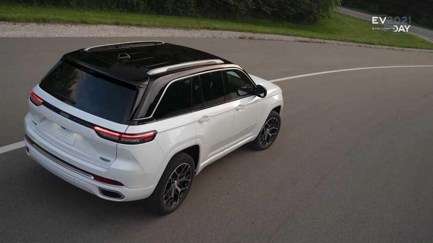Jeep готовит к рыночному дебюту гибридный Grand Cherokee 4xe