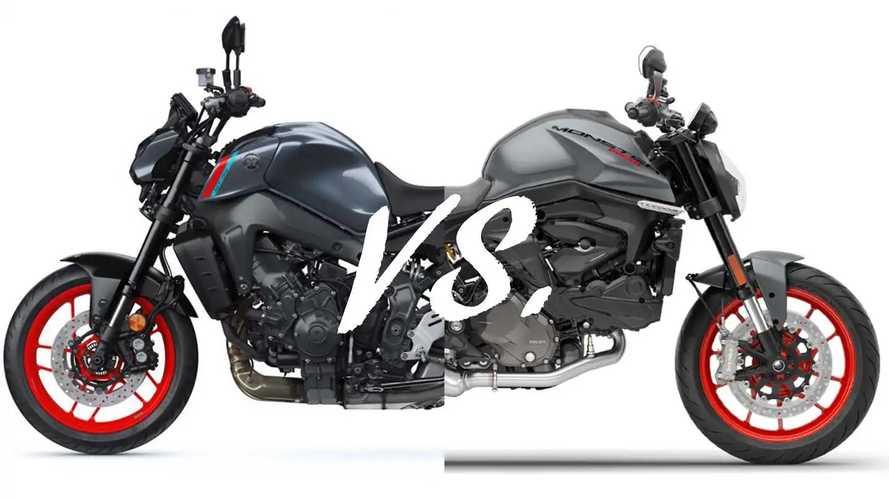 Spec Showdown: Ducati Monster Vs. Yamaha MT-09