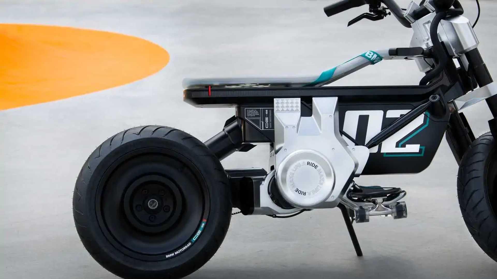 BMW Motorrad Concept CE 02 - Rear Right Side Closeup