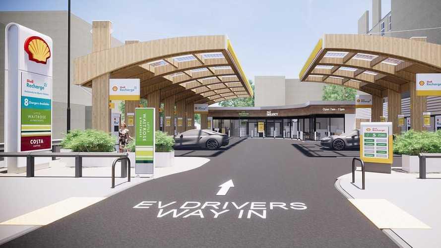 Shell установит зарядные станции в магазинах Waitrose к 2025 году