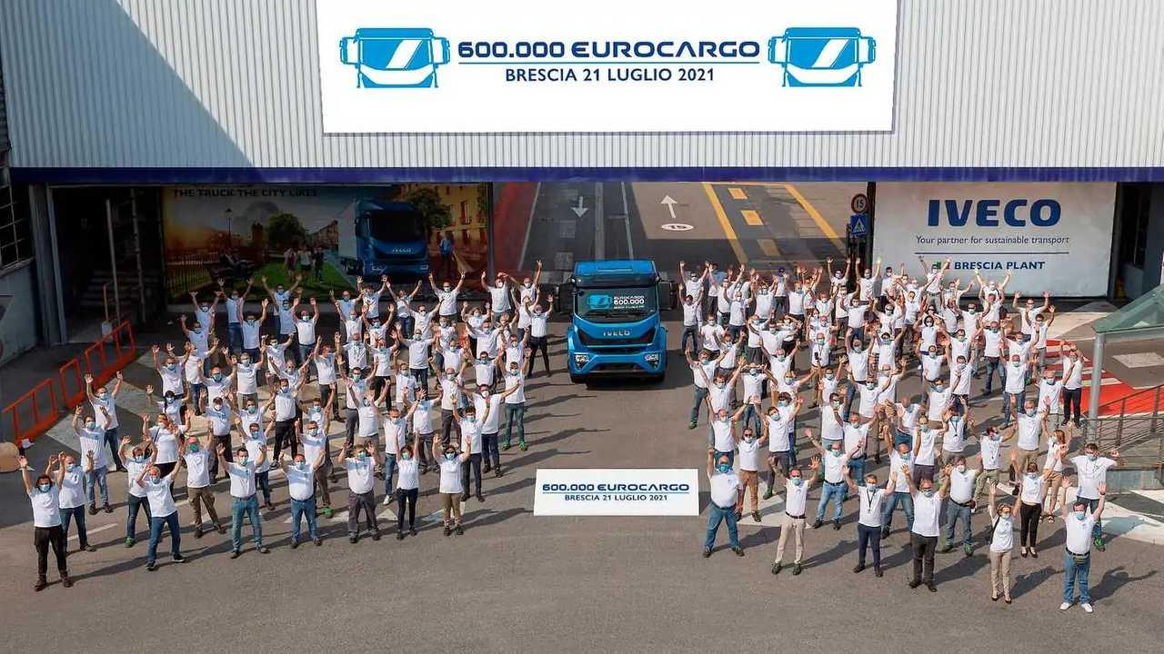 Iveco Eurocargo, a Brescia si celebra il 600.000esimo esemplare