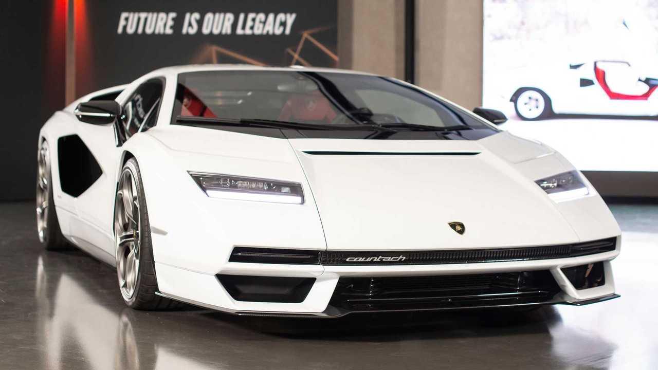 Der Lamborghini Countach ist zurück: Premiere mit V12-Hybrid