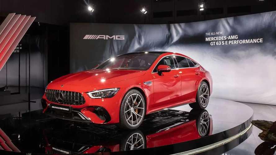Mercedes-AMG GT 63 S E Performance: Mega-Hybrid debütiert mit 843 PS