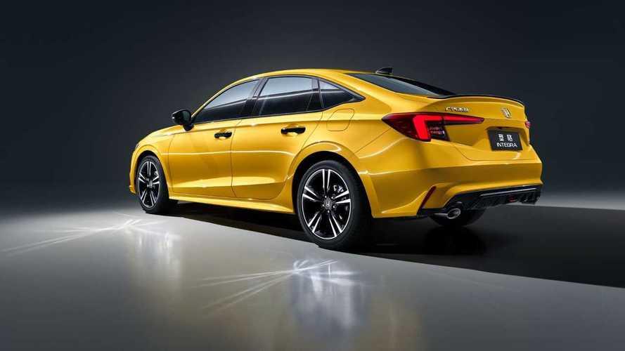 Honda Integra, el Civic Sedan para China