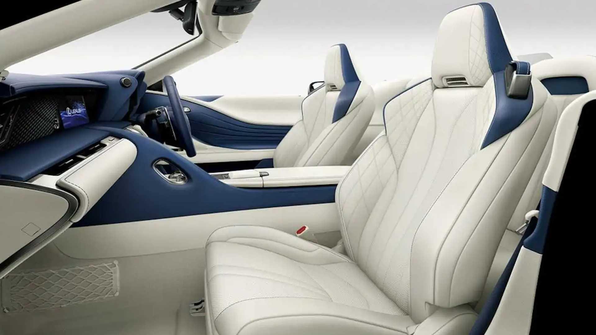 Actualizaciones de Lexus LC (Japón)