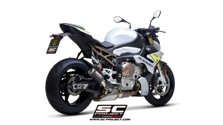 SC Project Releases CR-T Slip-On Exhaust For 2021 BMW S 1000 R