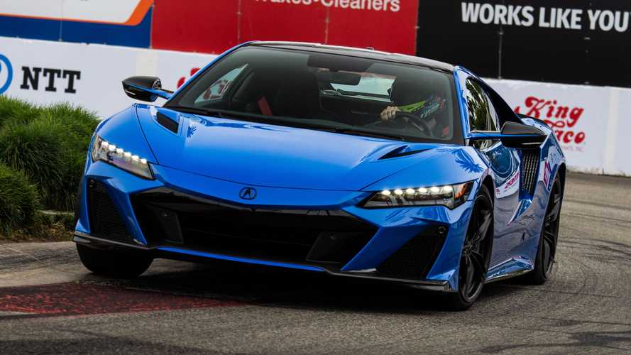 2022 Acura NSX Type S Sets Production Car Record At Long Beach Street Circuit