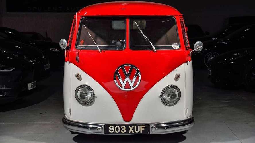 Volkswagen Splitscreen de 1956 de Jenson Button