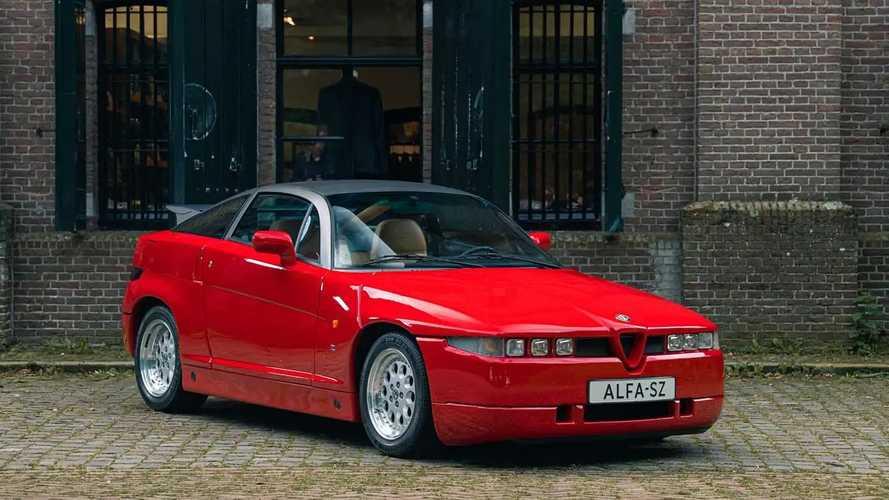 Se subasta este Alfa Romeo SZ, de 1991, con 1.300 kilómetros