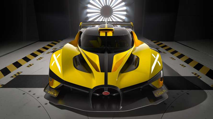 Сумасшедший Bugatti Bolide все же станет серийным