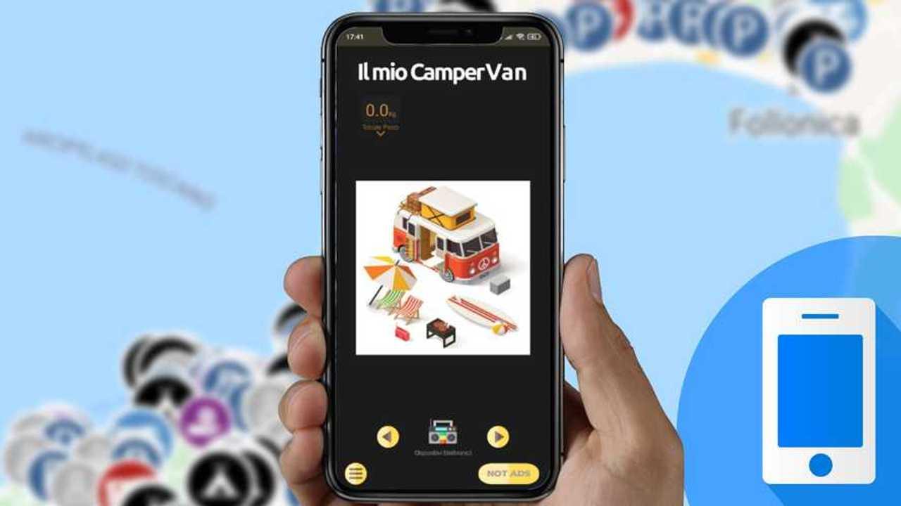 app smartphone per organizzare viaggi in camper