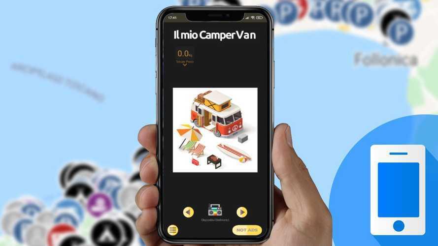 Le migliori app per organizzare un viaggio in camper