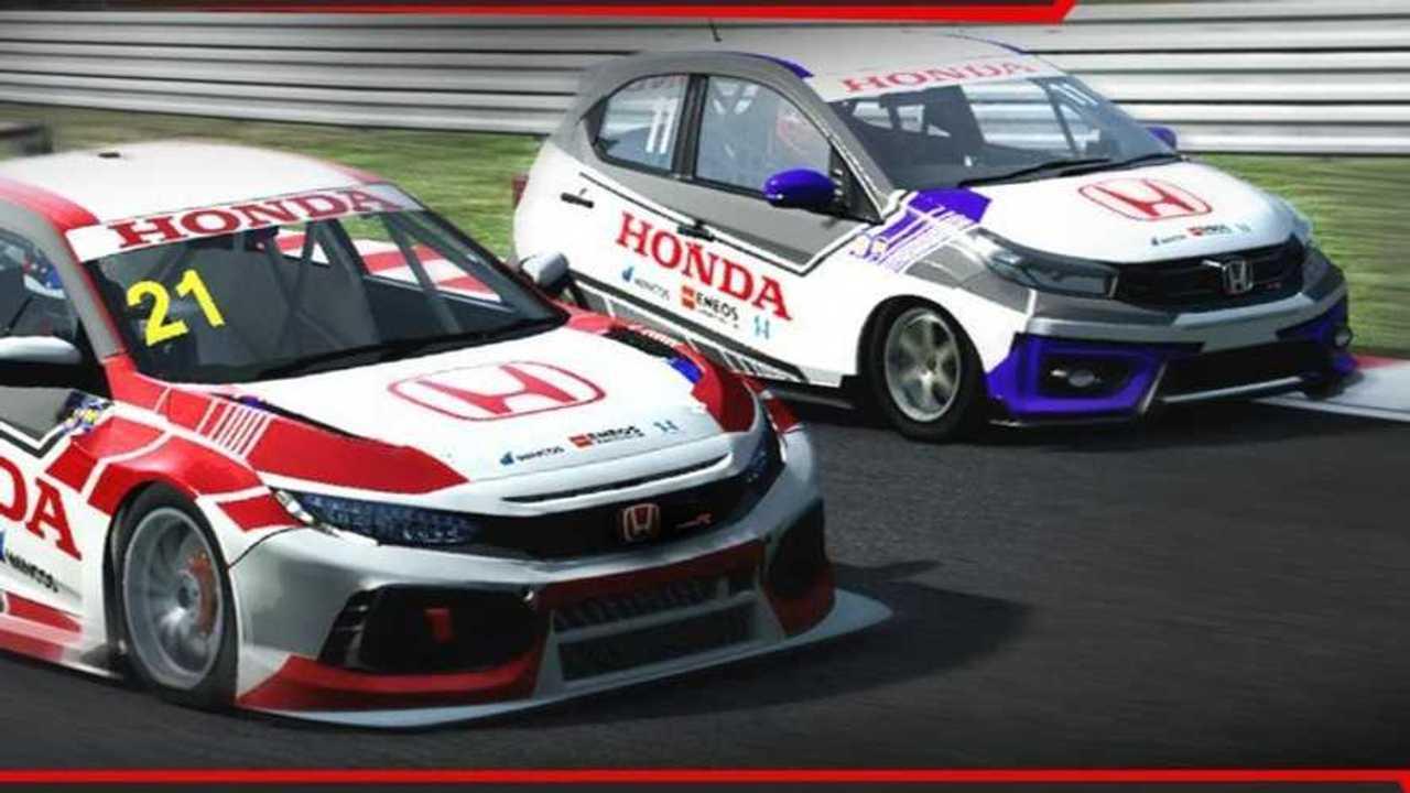 Adu skill di Honda Racing Simulator Championship 2
