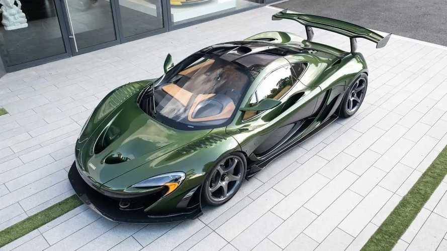 Оцените роскошный супергибрид McLaren P1 HDK